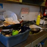 アメリカンバックパッカーズのキッチンの写真