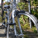 自転車とタイヤ、シュワルベ・マラソンの写真