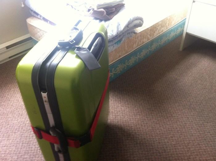 モミーさんの荷物の写真