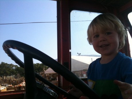 Eli and the Tractor