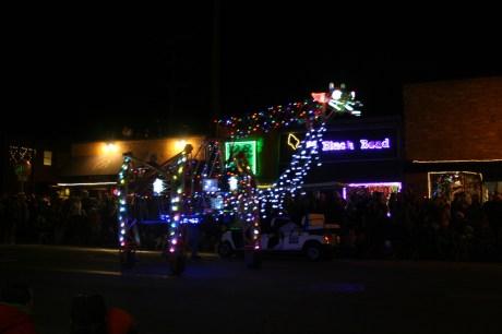 OB Christmas Parade Float