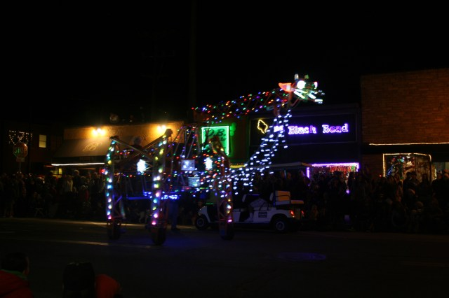 OB Christmas Parade Float