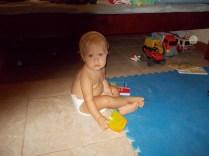 Isabel at play