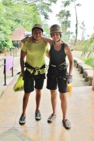 Costa Rica canyoneering tour