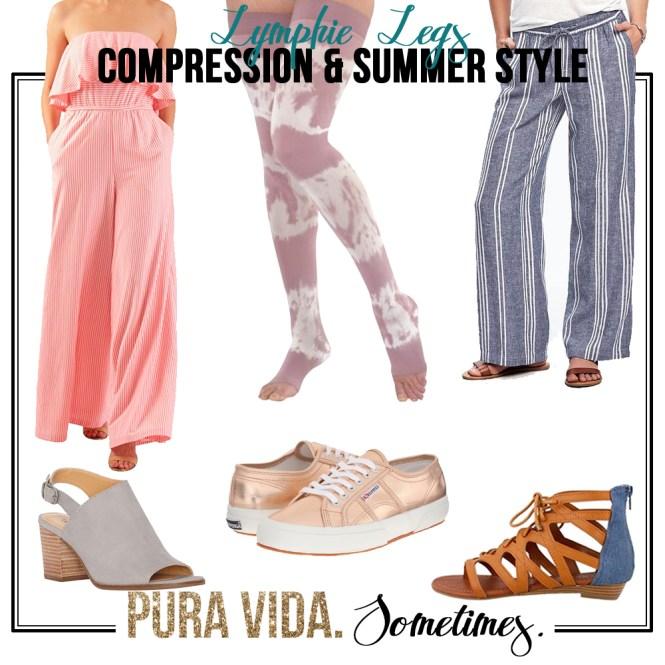 Lymphie Legs (Compression & Style) - Pura Vida Sometimes