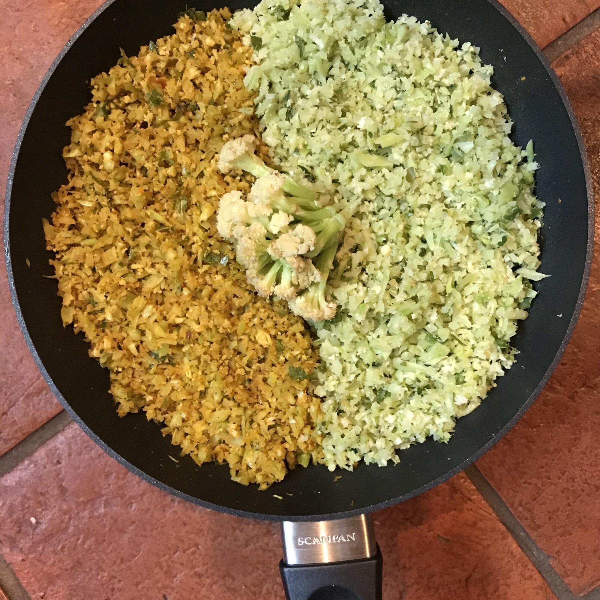 Sprouting Cauliflower Rice