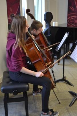 Double Cello Trouble in Schubert Quintet © Hattie Rayfield