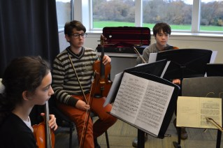 Being led through Dvorak for the first time © Hattie Rayfield