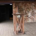 Outdoor Smoking Area (10) Painted Rust Effect Bin Holders