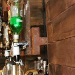 Painted Rust Effect Spirit Bottle Holder (1)