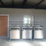 Stainless steel display trolleys