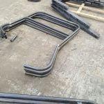1 - Mild steel rails in production