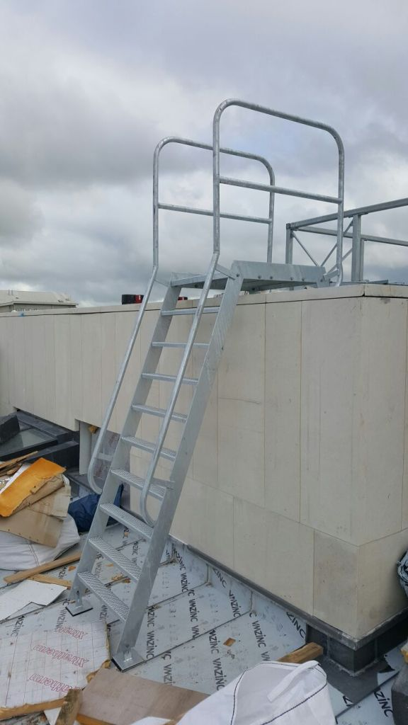 6 - Roof access ladder