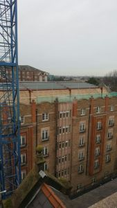 Clayton Hotel Ballsbridge extension to roof