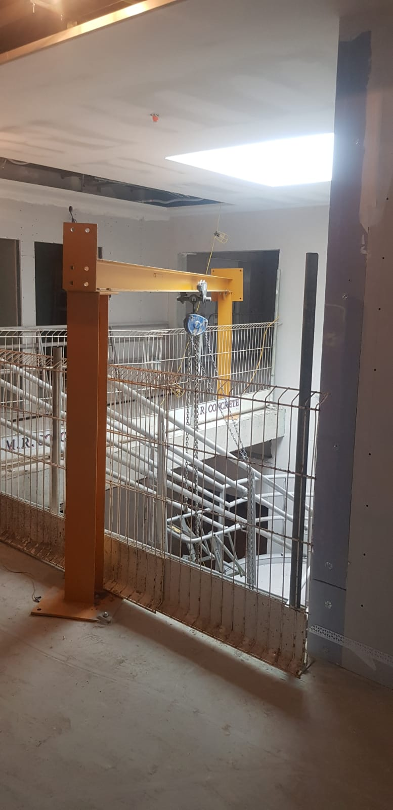 1 - Installation of feature stairs Peamount Hospital