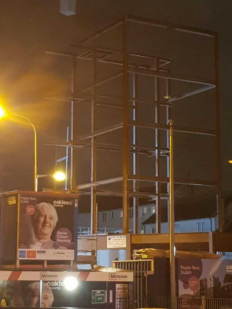 13 - Structural steel installation Popular Row