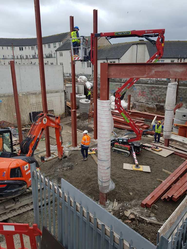 4 - Structural steel installation Popular Row
