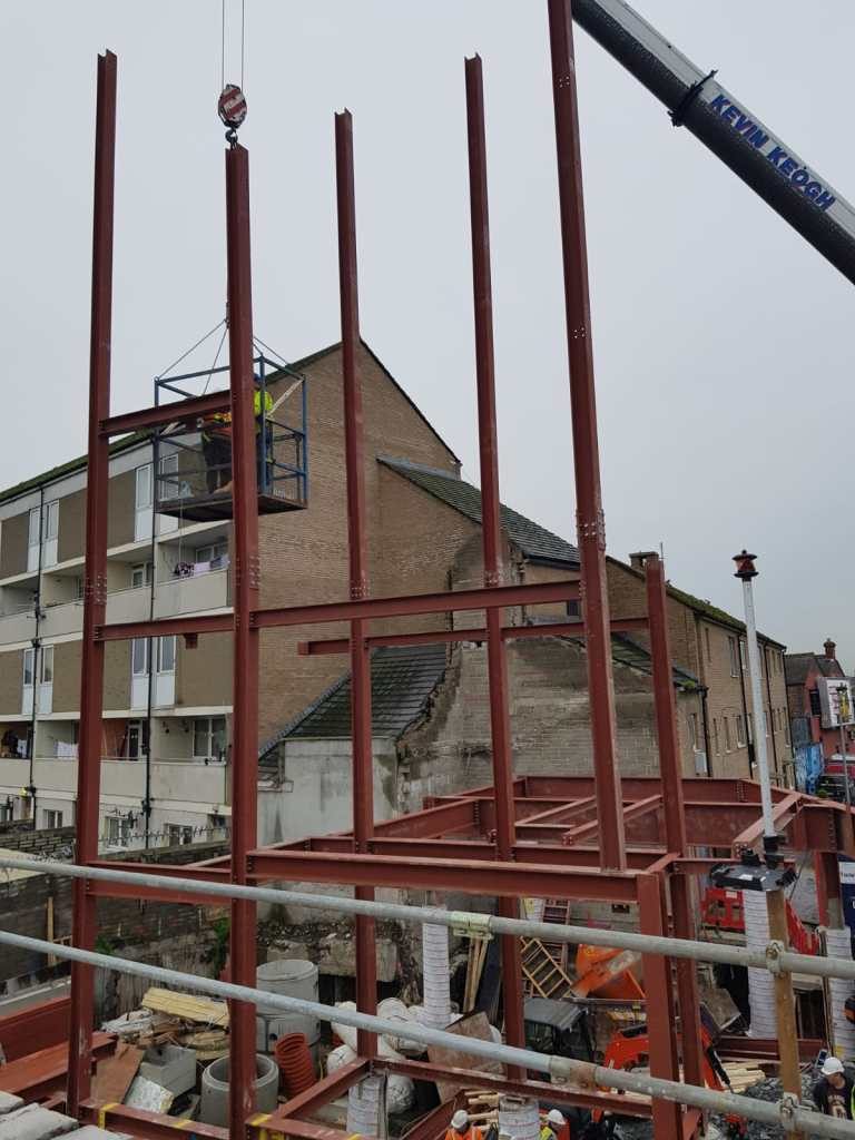 5 - Structural steel installation Popular Row