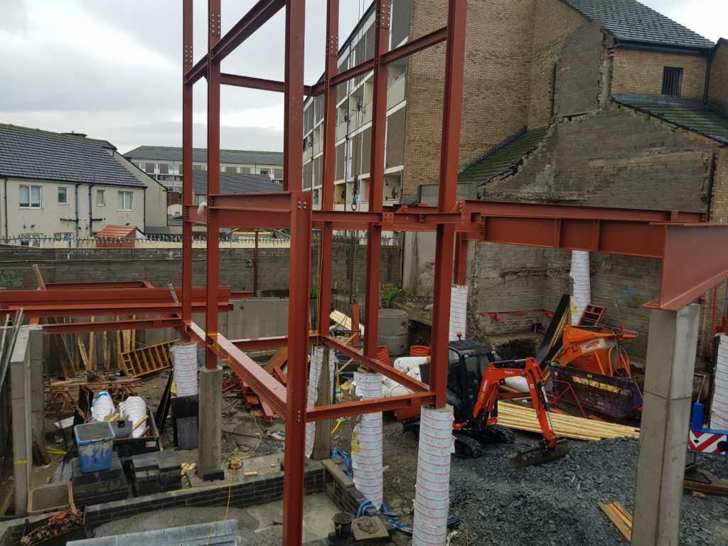 7 - Structural steel installation Popular Row
