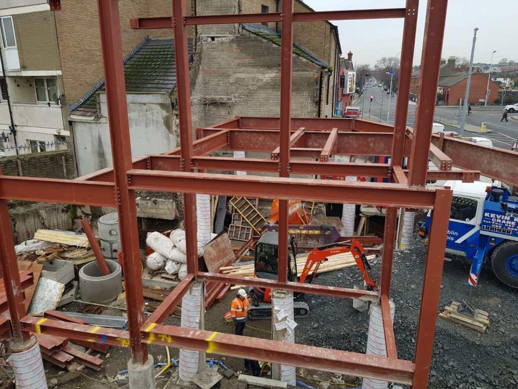 8 - Structural steel installation Popular Row