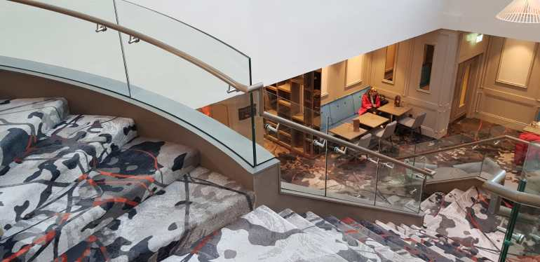 Feature staircase Clayton Hotel, Ballsbridge (11)