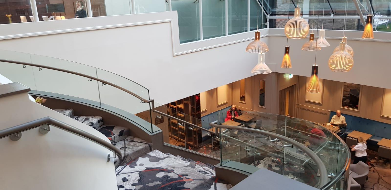 Feature staircase Clayton Hotel, Ballsbridge (12)