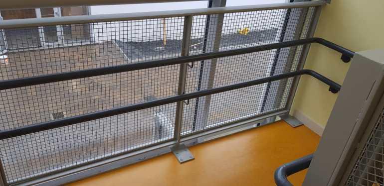 Stair Core hand rail, balustrade installation (14)