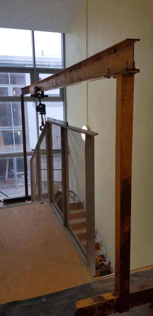 Stair Core hand rail, balustrade installation (2)