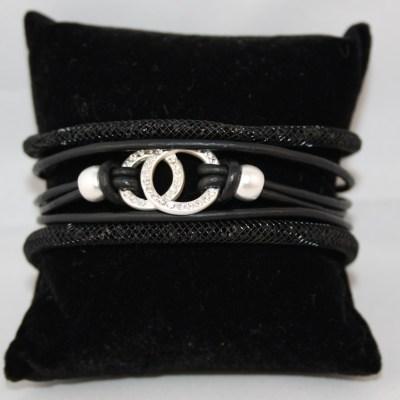 Setje-armbanden-zwart