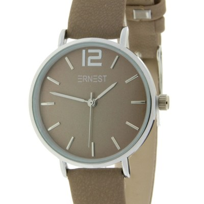 Horloge hazelnoot mini
