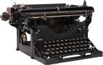 Old Black Type Writer
