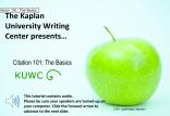 APA  Citation Part 1  Green Apple