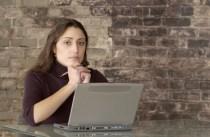 Girl at Computer, (c) 2013 Jupiterimages