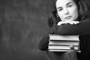 Scholar woman