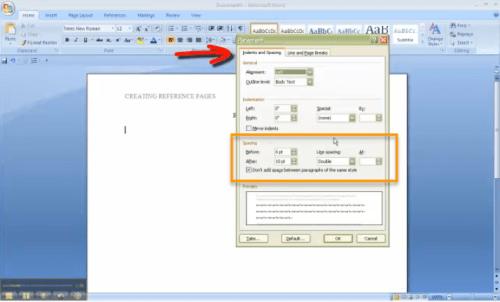 References Video Screenshot
