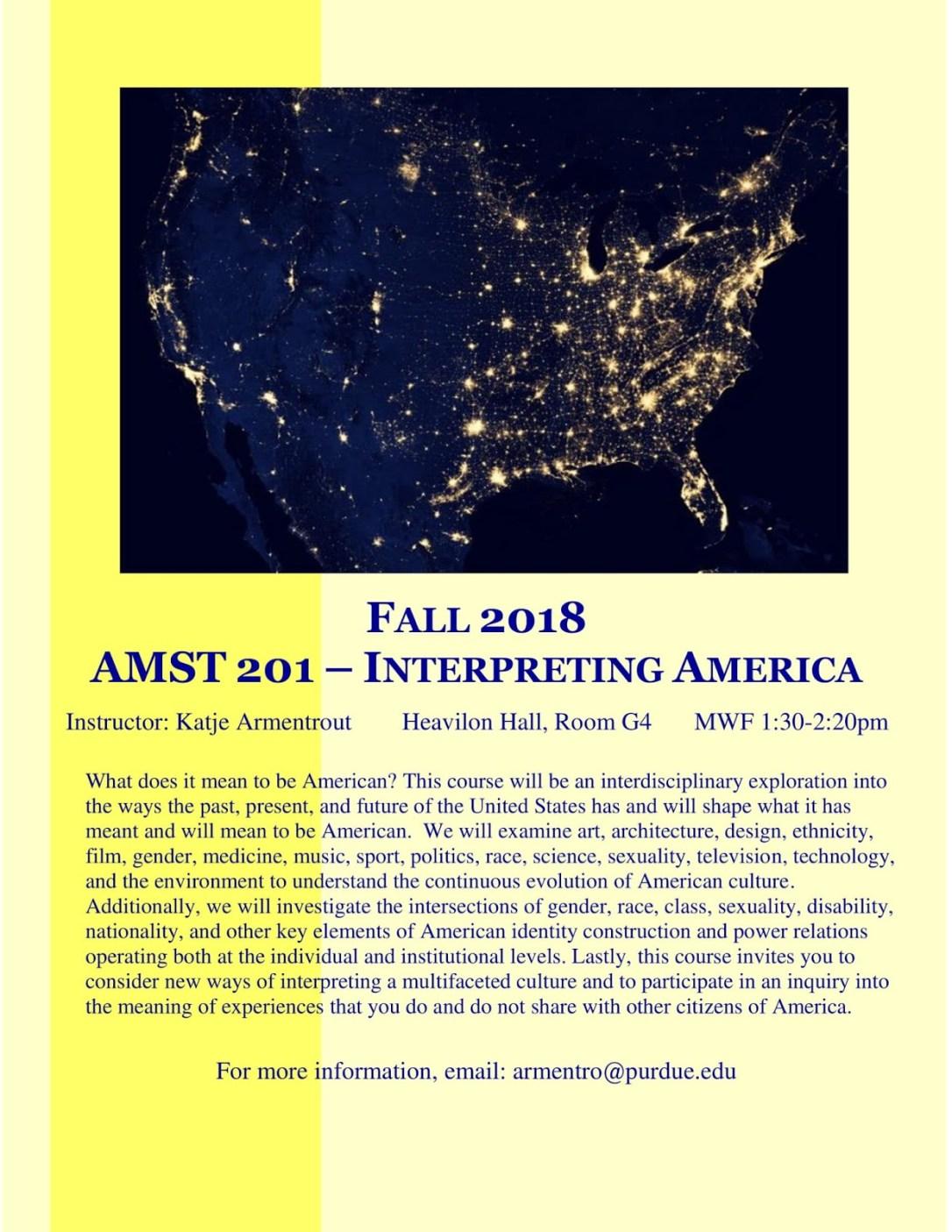 FA 18__AMST 201__Interpreting America__Armentrout-1