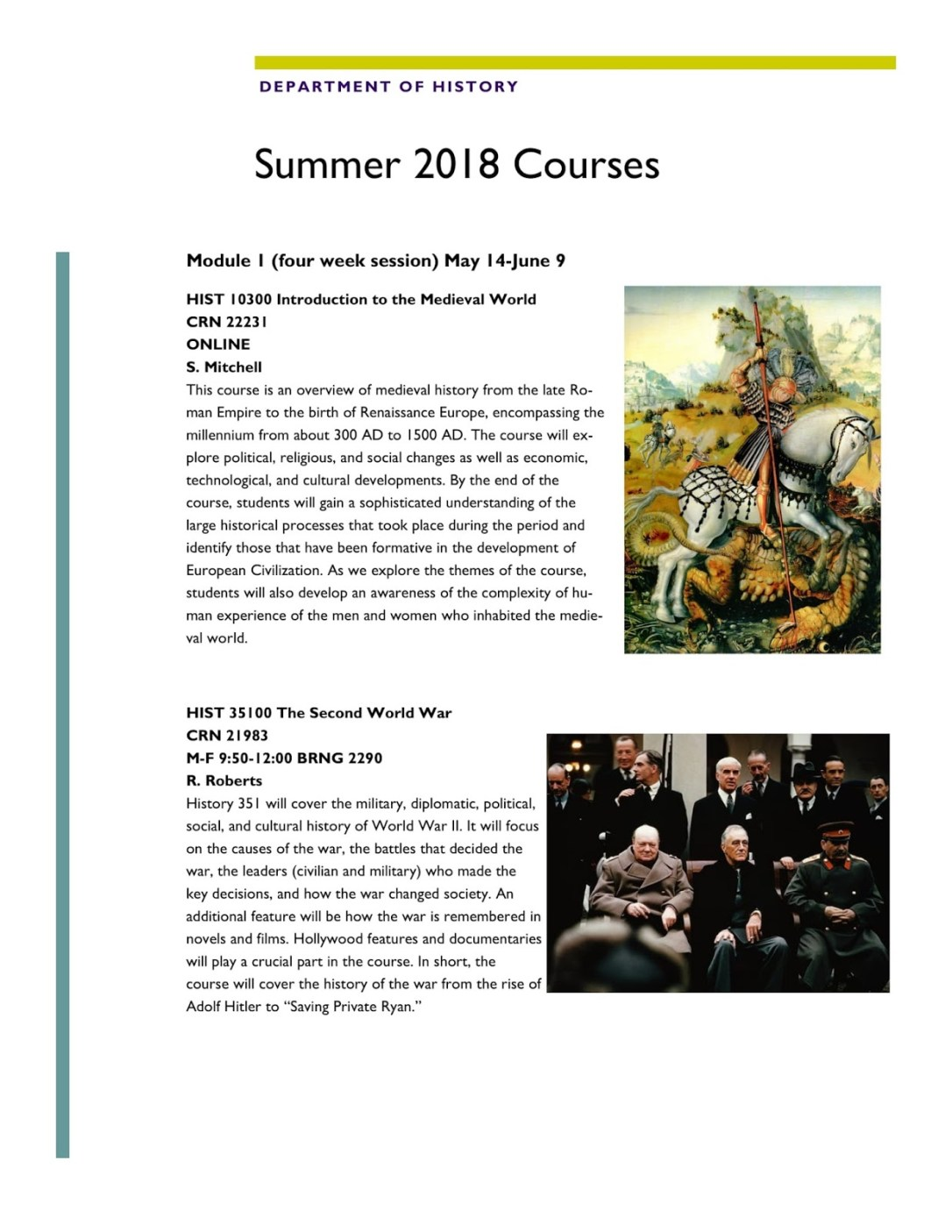 Summer 2018 History courses-1
