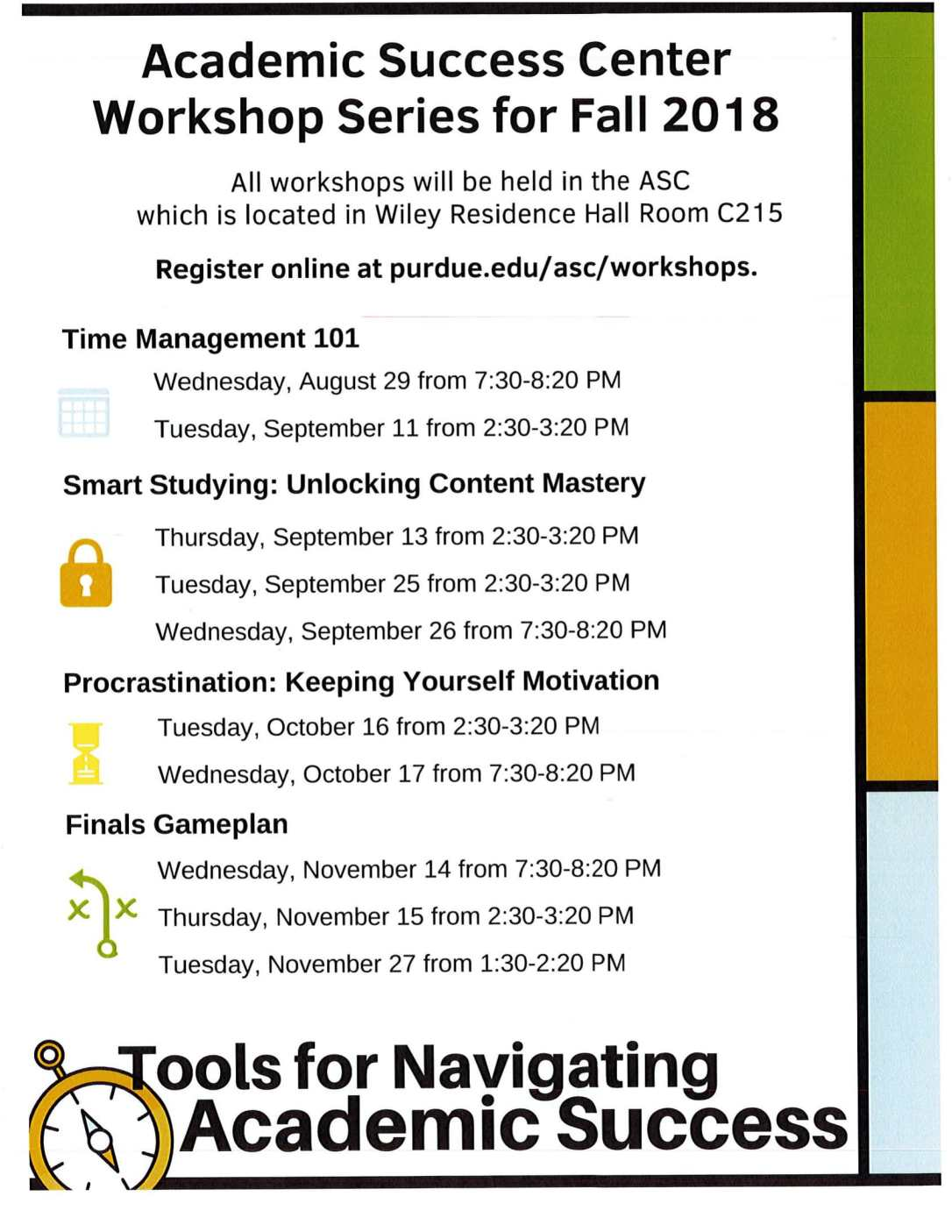 Academic Success Center Workshops-1