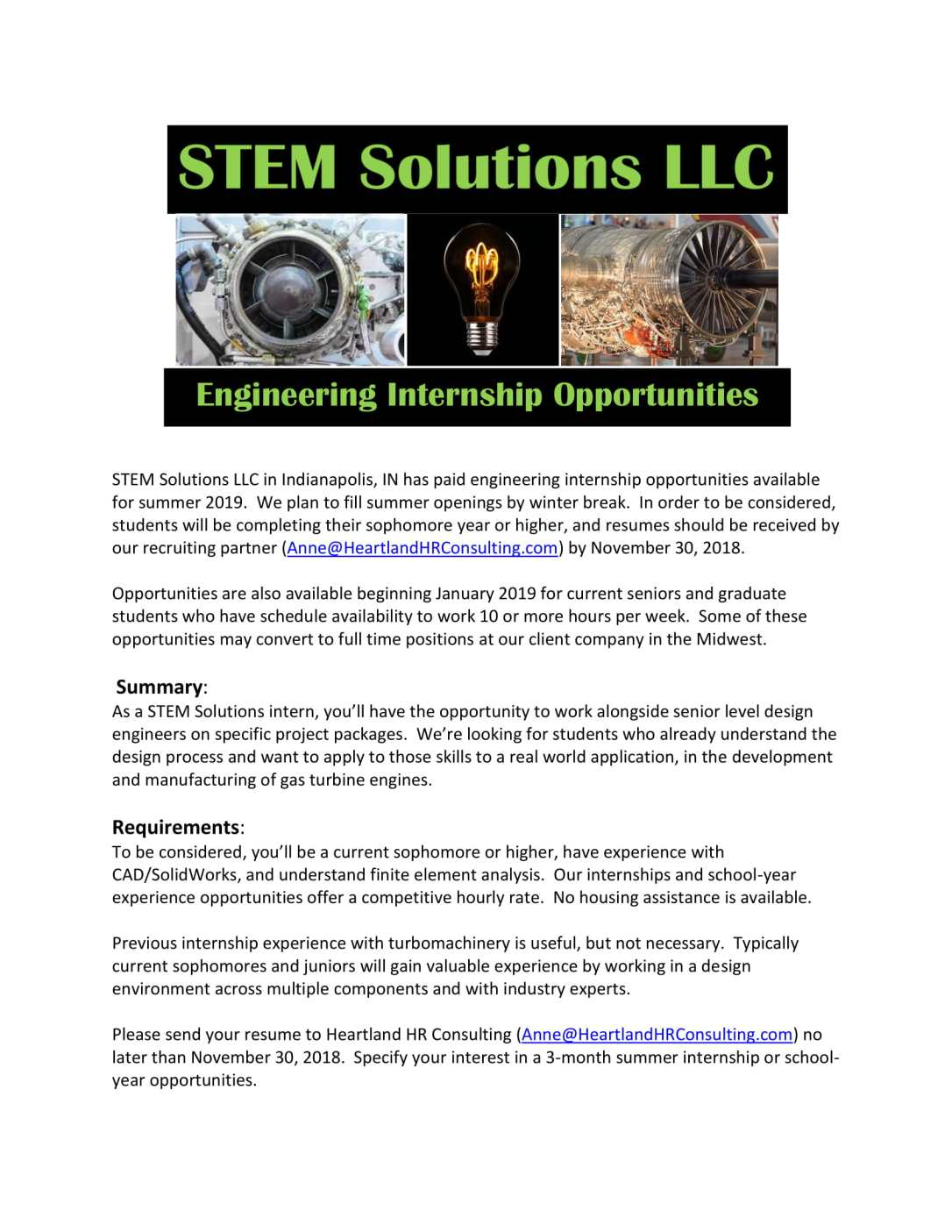STEM Solutions intern flyer-1