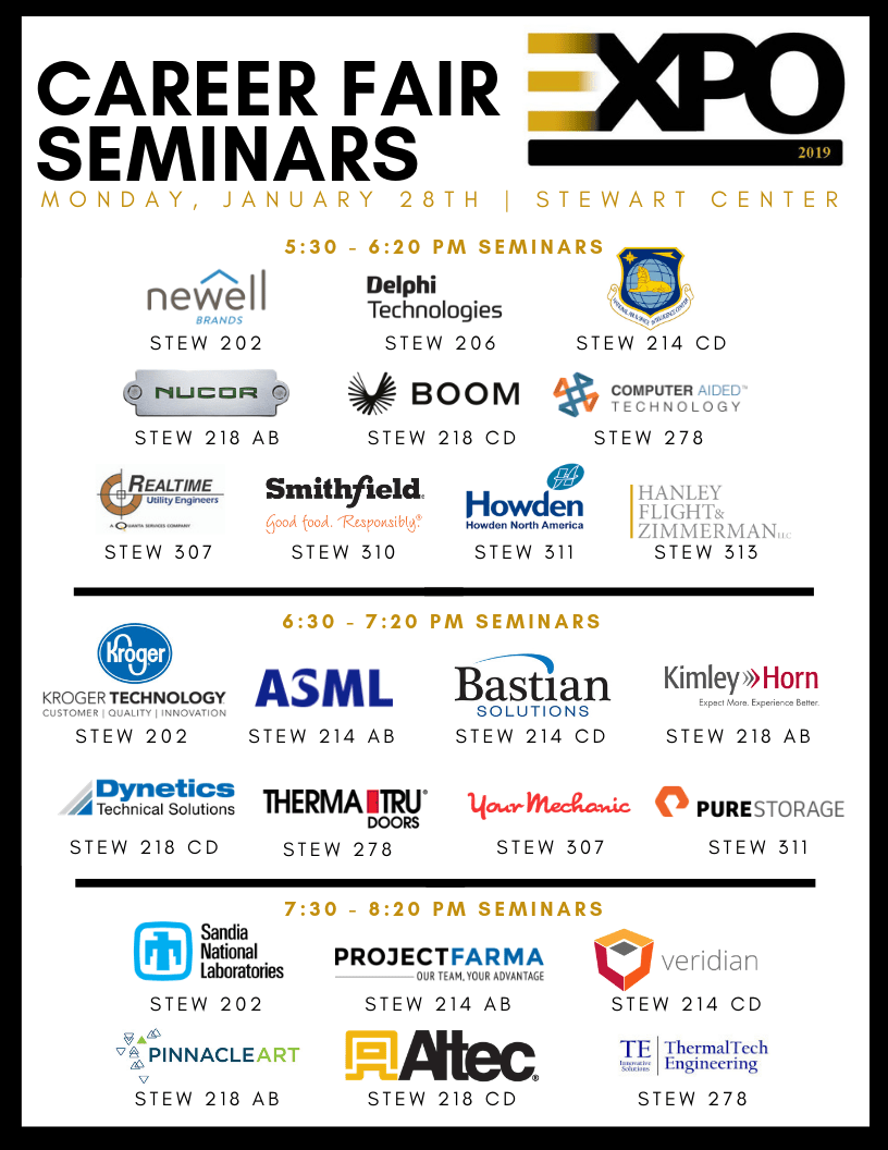 Career Fair Seminars 2