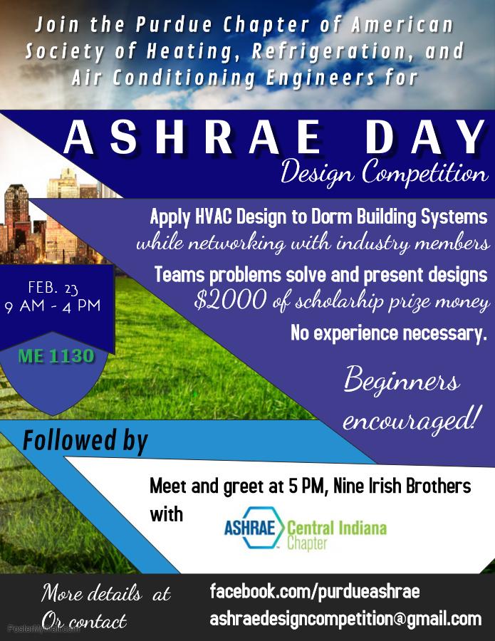 ASHRAE flyer