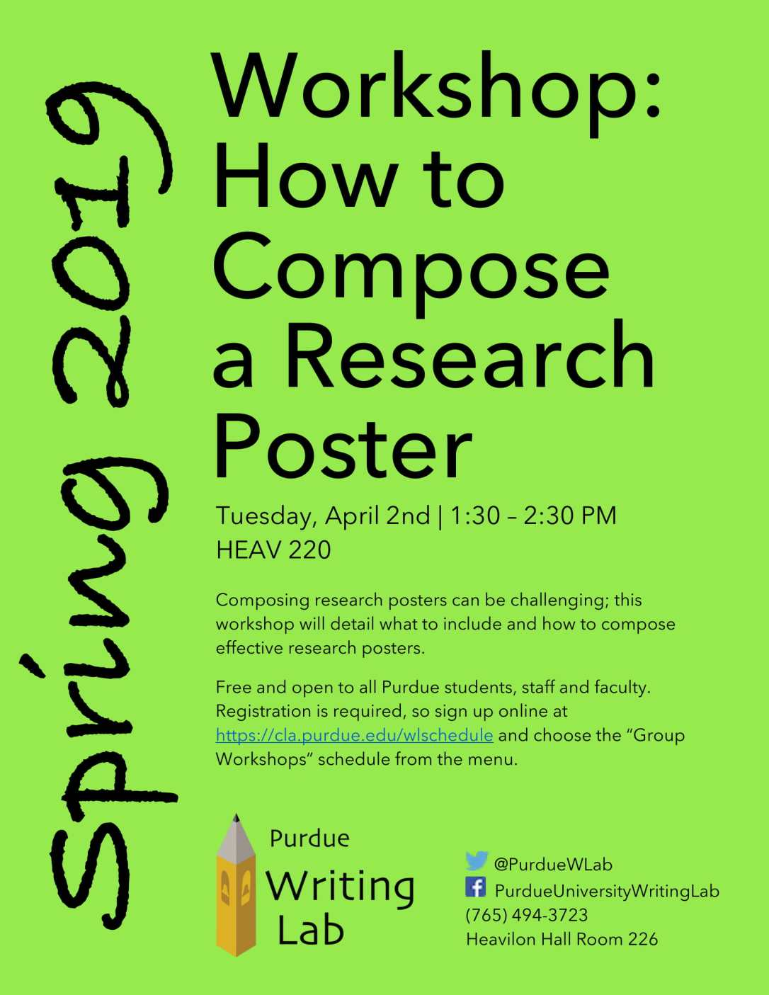 How to Compose a Research Poster Workshop – Undergraduate Blog
