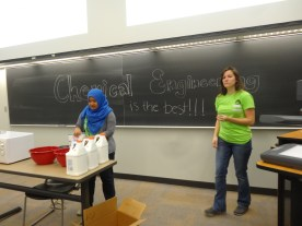 Chemical engineering activity