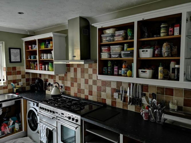 kitchen respray Basingstoke