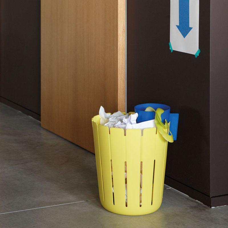 corbeille a papier bureau tri selectif poubelle