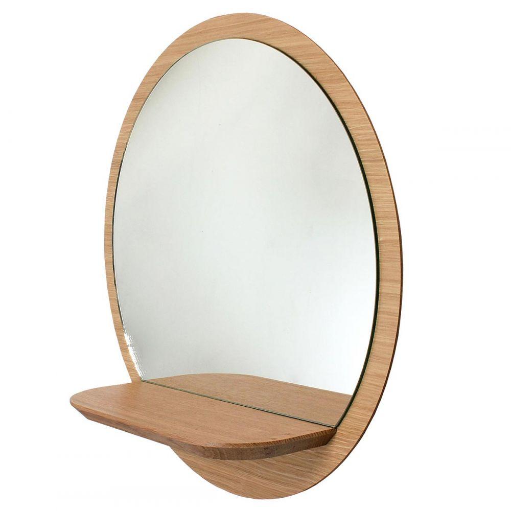 miroir rond sunrise reine mere