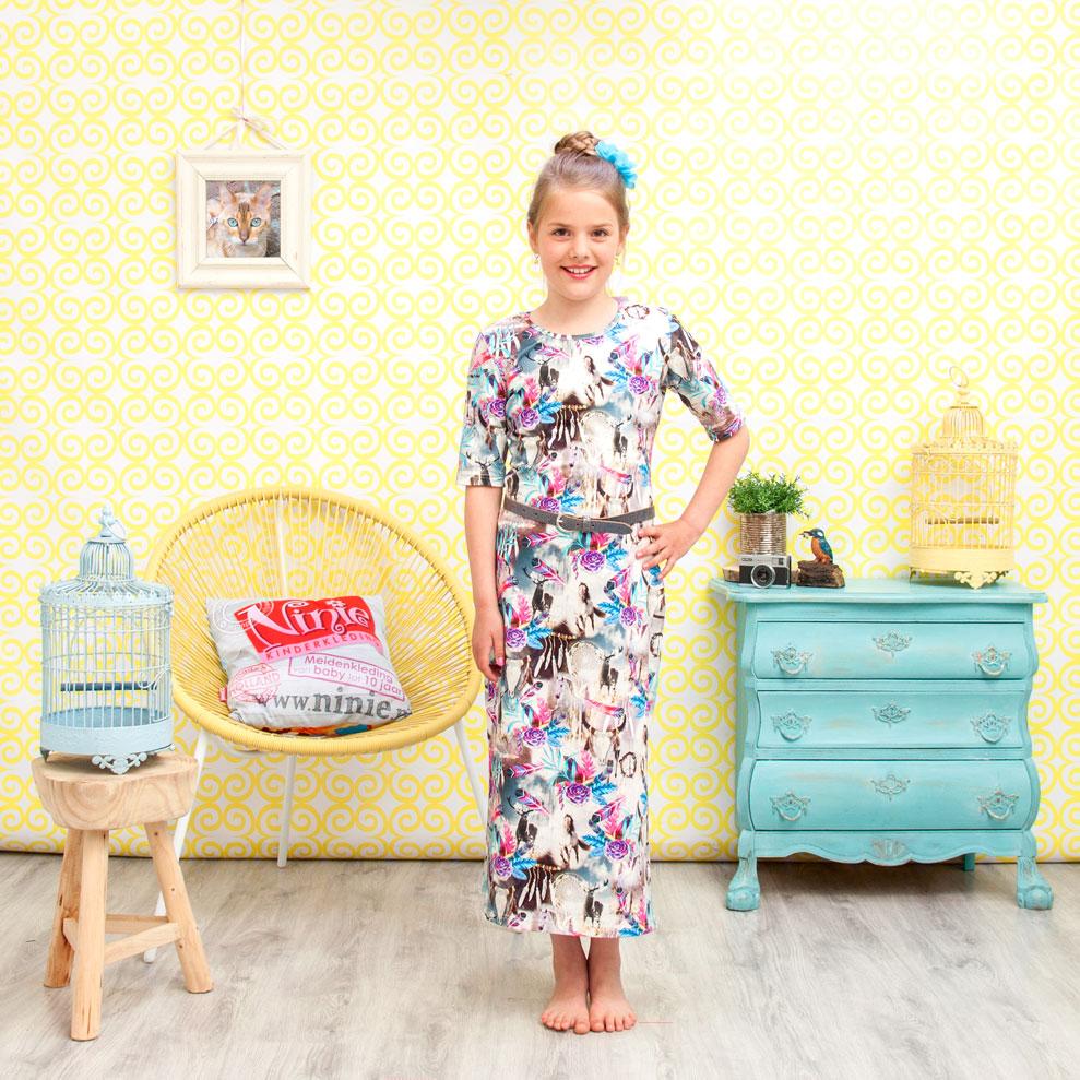 ninie kinderkleding maxi jurk shoot 4