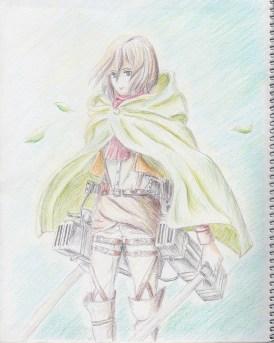 ミカサの戦い(Color Ver.)