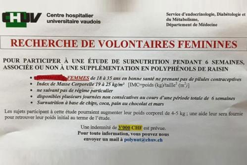 volontaire clinique