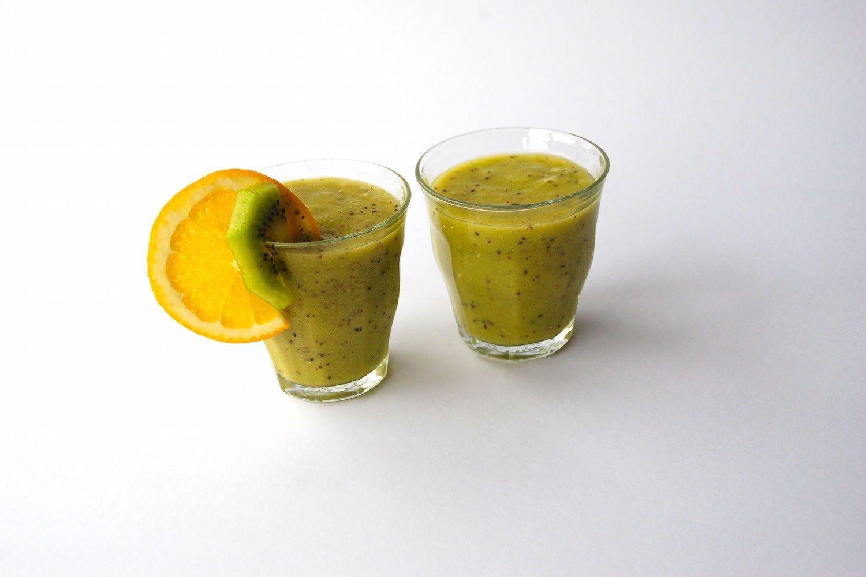 Sinaasappel Smoothie: Green Sweetness